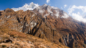 View Machhapuchre Royalty Free Stock Photography