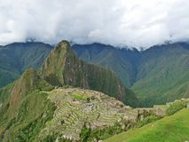 View of Machu Picchu Royalty Free Stock Photos