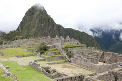 View From Machu Picchu Stock Image