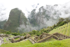 View From Machu Picchu Stock Photography