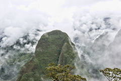 View From Machu Picchu Royalty Free Stock Image