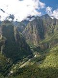 View from Machu Picchu (Peru) Stock Images