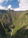 View from Machu Picchu (Peru) Royalty Free Stock Photography