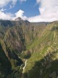 View from Machu Picchu (Peru) Royalty Free Stock Photography