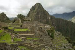 View of Machu Picchu in Peru Stock Photos