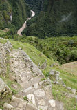 View from Machu Picchu Royalty Free Stock Photo