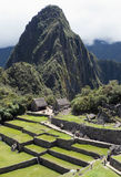 View of Machu Picchu. Typical view of Inca City of Machu Picchu, Peru Royalty Free Stock Photography