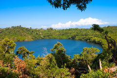 View of madagascar. Panoramic view of the lake, Madagascar Royalty Free Stock Photos