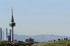 View of Madrid Stock Photo