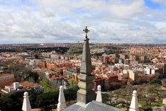 View of Madrid, Spain Stock Photos