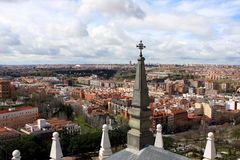 View of Madrid, Spain Stock Photo