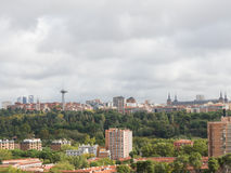 View Madrid, Spain Royalty Free Stock Photography