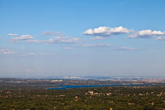 View of Madrid, Spain from San Lorenzo Royalty Free Stock Photos