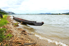 View of Mae Klong Dam in Kanchanaburi Stock Photos