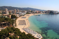View on Magaluf stock photo
