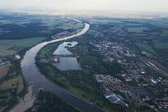 View of Magdeburg And Salbker Lakes Royalty Free Stock Photography