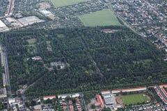 View of Magdeburg Westfriedhof Royalty Free Stock Image