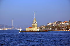 View on Maiden's tower Stock Photography