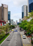 View of the main street at Chinatown, Singapore Stock Photography
