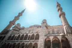 View of the majestic BLue Mosque, Istanbul, Turkey. Stock Photography