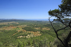 View of Majorca Royalty Free Stock Images