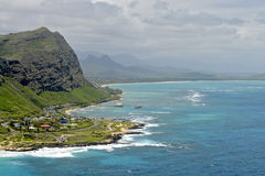 View from Makapuu Royalty Free Stock Photo