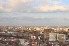 The view of Makhachkala city royalty free stock image