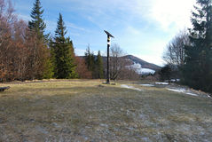 View from Czantoria Mala to Velka Cantoryje Stock Photos