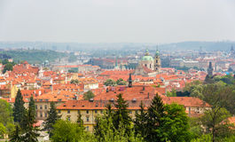 View of Mala Strana in Prague Stock Photography