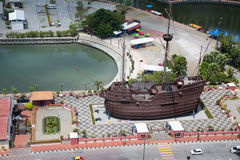 View of the Malacca bird's-eye view, Malaysia Stock Photos