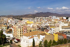 View of Malaga, Spain Royalty Free Stock Photos