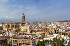 View of Malaga, Spain Stock Image