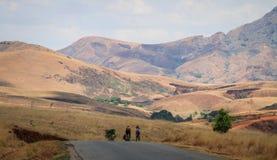 On the way to Diego Suarez, Northern Madagascar Stock Photo