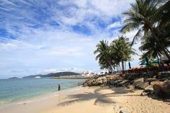 View in Malaysia Sabah Royalty Free Stock Photos