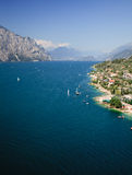 View from Malcesine Royalty Free Stock Photos