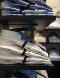 View of male shirts Stock Photos