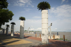 View of malecon 2000 guayaquil ecuador Stock Photos