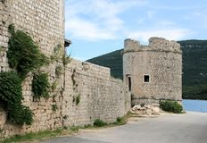 View in Mali Ston, Croatia Royalty Free Stock Image