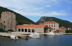 View in Mali Ston, Croatia Stock Photos