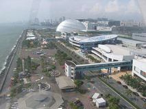View from the Mall of Asia eye, Metro Manila, Philippines stock images