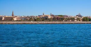 View of Mallorca city Stock Photography