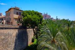 View of Mallorca city Royalty Free Stock Photo