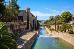 View of Mallorca city Stock Image