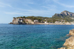 View of Mallorca coastline. Royalty Free Stock Images