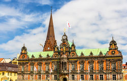 View of Malmo City Hall. In Sweden Royalty Free Stock Image