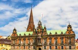 View of Malmo City Hall Royalty Free Stock Image