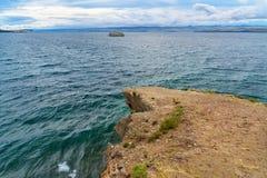 Maloe More on Lake Baikal. Russia. View on Maloe More from Cape Uyuga. Lake Baikal. Russia Stock Images