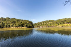 View of Malwee Park lake. Jaragua do Sul. Santa Catarina Royalty Free Stock Image