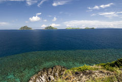 View of Mamanuca Group islands, Fiji Stock Photo
