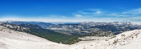 View from Mammoth Mountain Stock Photography